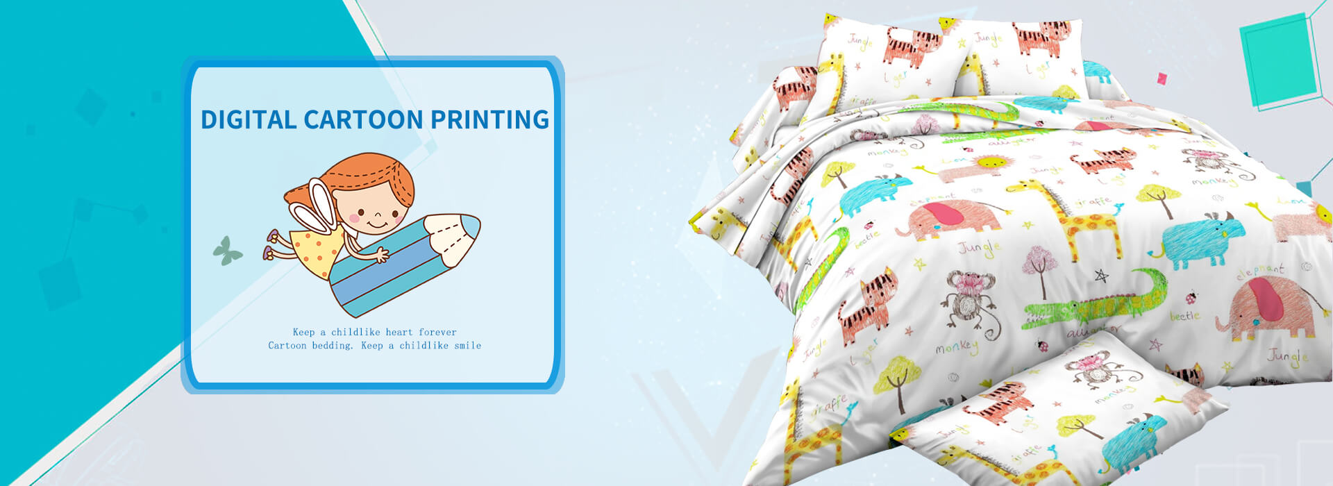 Digital cartoon printing